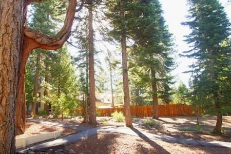 Studio condo in forest, near beaches & resorts - Tahoe Vista - Apartment