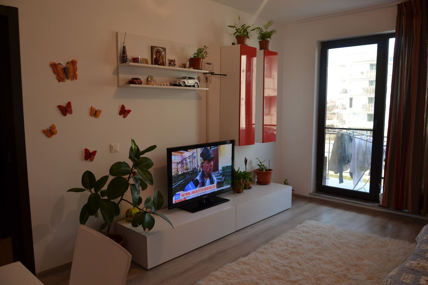 butterfly apartament-living room