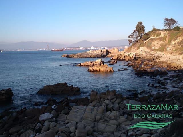 TerrazaMar EcoCabañas - Cabaña Luna