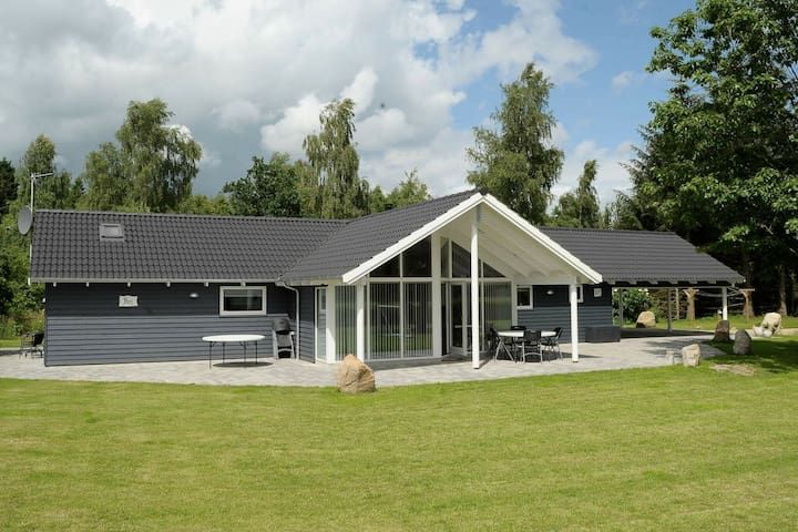 Spacious Holiday Home in Silkeborg with Sauna
