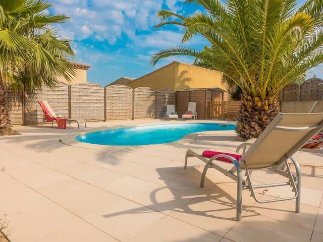 Villa 5 chambres piscine privée