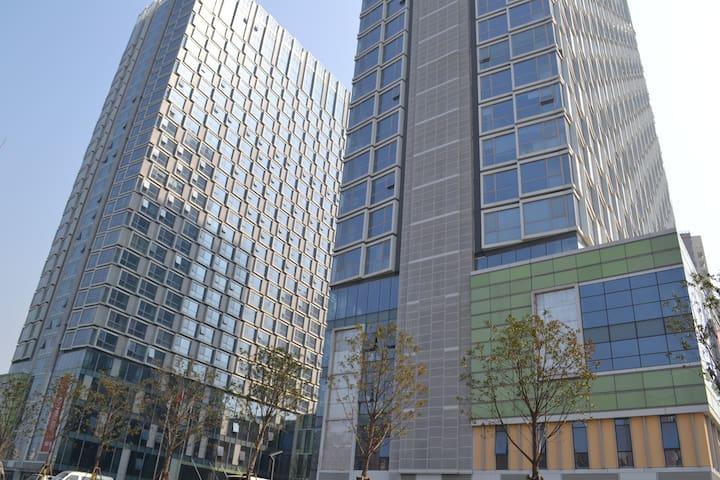 位于红谷滩新区长江路站地铁口的地中海风格公寓,阳光充沛,地段方便,家电齐全。 - Nanchang Shi - Departamento