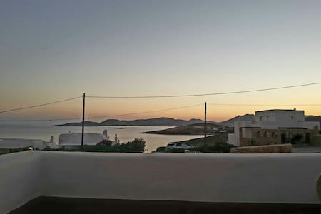 Beautiful SeaView Villa ONE in Parasporos, Paros - Parasporos - Ev
