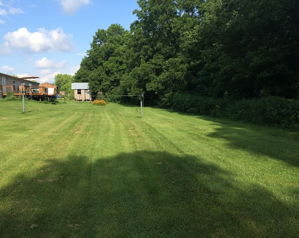 BYOTent & Park On Buckeye Trail, RuralCountry Yard