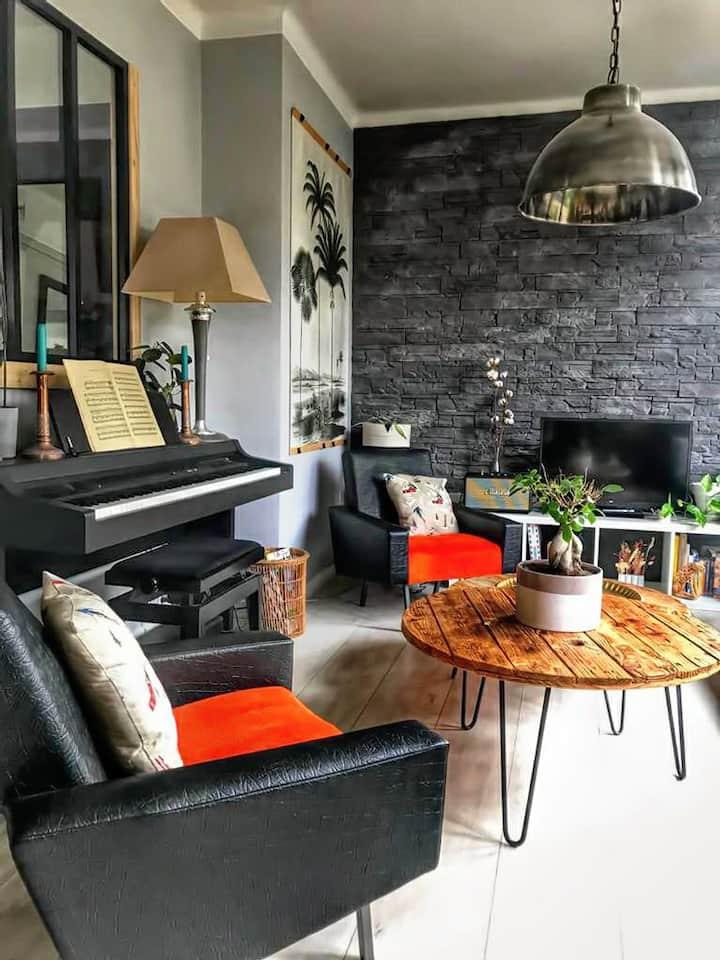 Belle chambre au coeur d'Annecy - vue montagnes