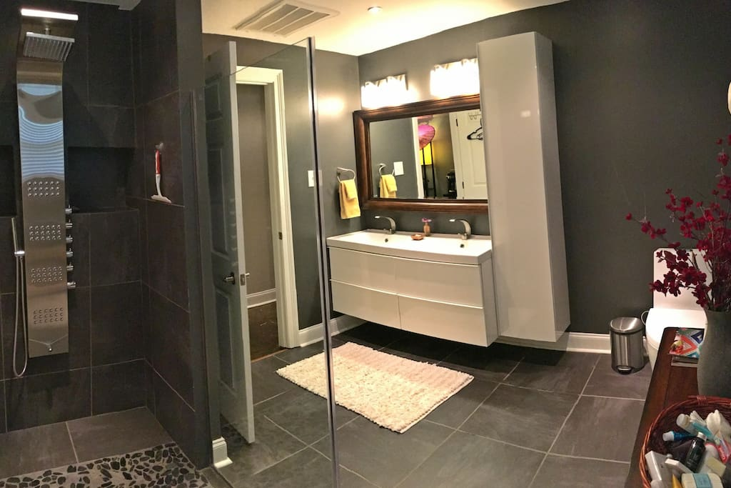 Your own, private bathroom.