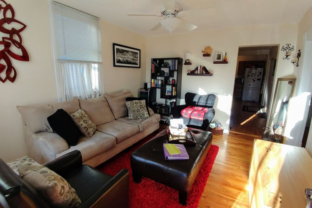 Living Room with games such as Cribbage, Catch Phrase, Cards, Phase 10, Skipbo, and Puzzles.  Toys for small children as well.