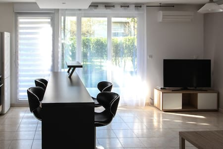 Appartement proche d'Avignon : jardin, clim, neuf - Morières-lès-Avignon - Apartamento
