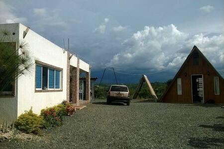 ALOJAMIENTO TIPO HOSTAL CABAÑAS - Altagracia - Természeti szállás