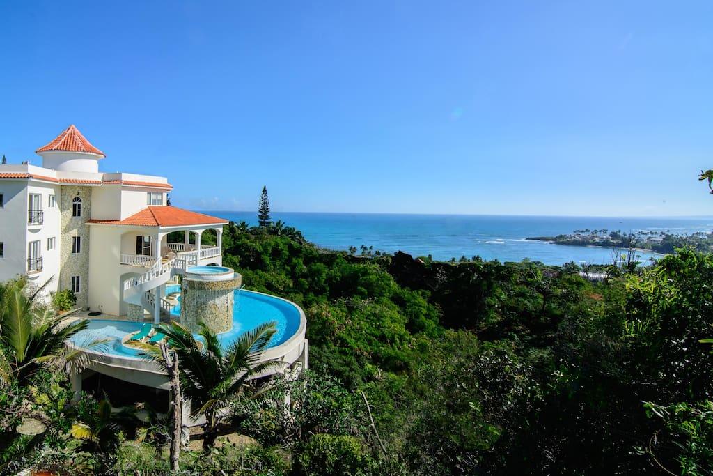 Bentley villa villas louer cofresi puerto plata - Villa kimball luxe republique dominicaine ...