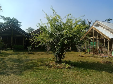 Jyoti Majuli Homestay Bamboo Hut