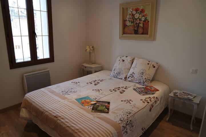 Deuxième chambre lit 160x200