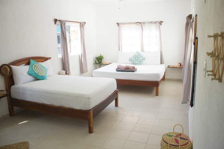 Quiet Centric Rooms Holbox - 2