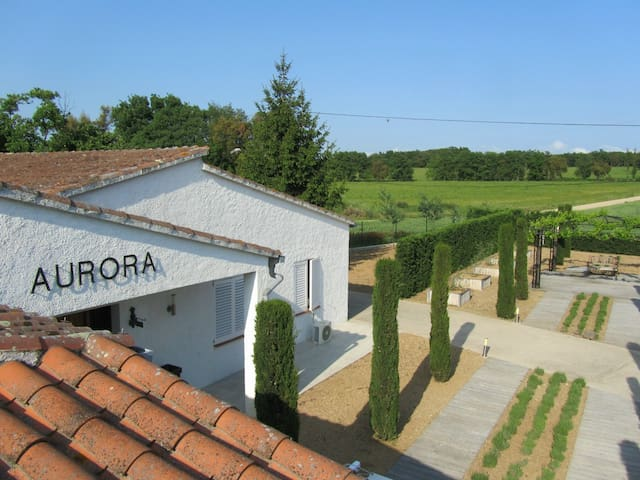 Villa Can Aurora in Llagostera with private pool - La Canyera