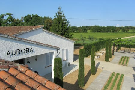 Villa Can Aurora in Llagostera with private pool - La Canyera - Villa
