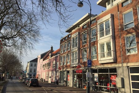 95m2 apartment at beautiful canal in Haarlem. - Haarlem
