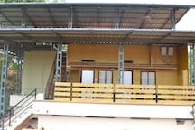 Bamboo Hut Rooms Veranda & Sea View Upper Deck