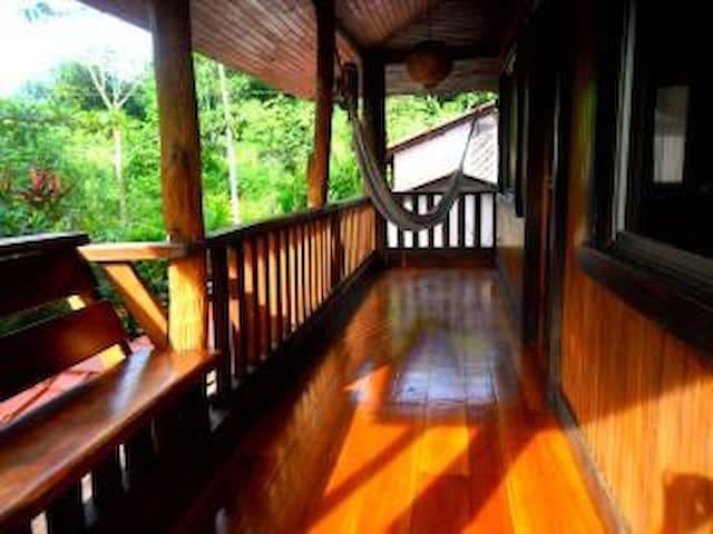Jungle BEACH  HOUSE!      A/C  Ocean 75meters away