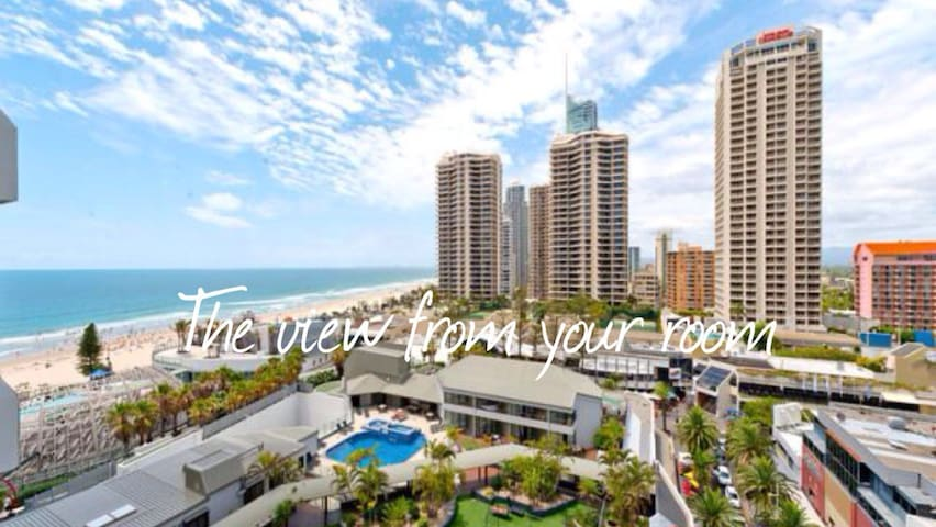 HAPPY ❤️ OF SURFERS + AMAZING VIEWS - Surfers Paradise - Appartement