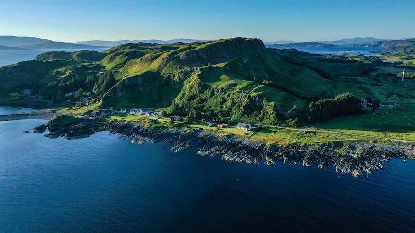 Atlantic Bay cottage, Isle of Seil nr Oban
