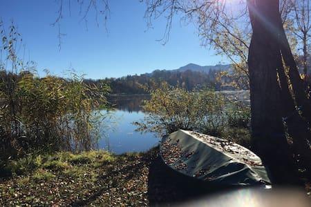 Paradies auf Erden - Ferienwohnung direkt am See - Seehausen am Staffelsee