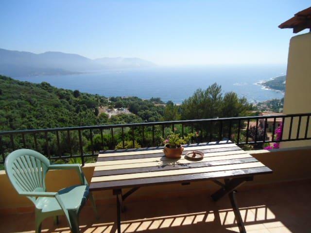 Appartement magnifique vue mer - Casaglione - Casa adossada