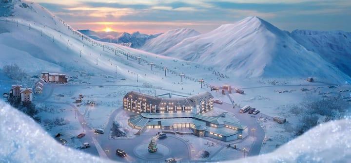 Gudauri 18-G Near Ski Lift
