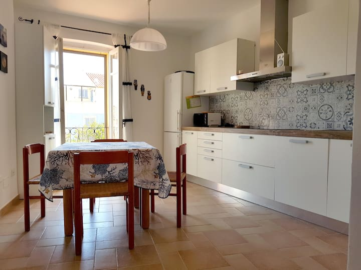 Porto Faro apartament, few steps from the beach