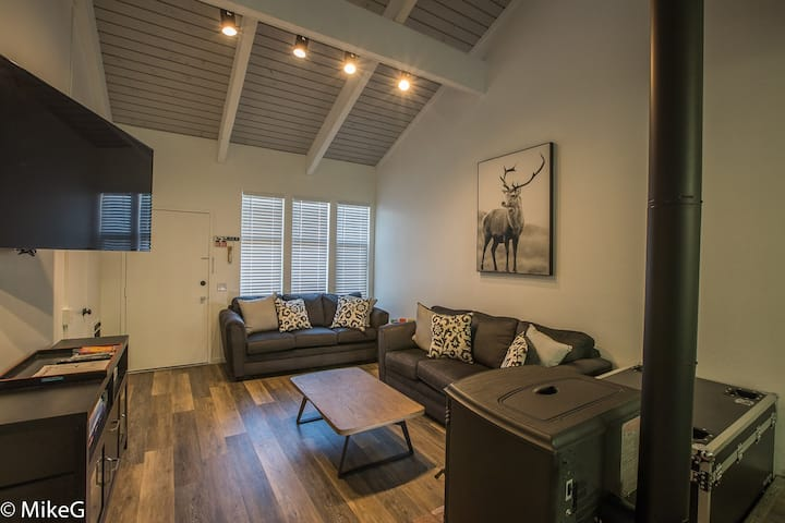 Modern Rustic Townhouse - 8 Beds!