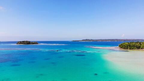 Matevulu Lodge 🐦 Pidjin Bungalow en bord de mer