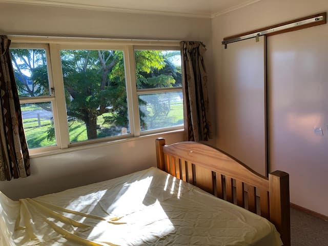 A sunny large double room.