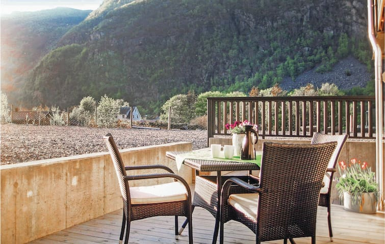 Holiday apartment with 1 bedroom on 40m² in Dirdal