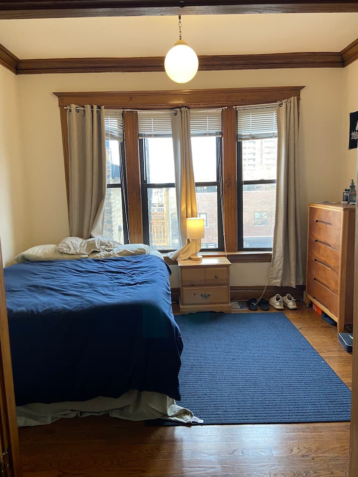 Wrigleyville private room, shared apartment