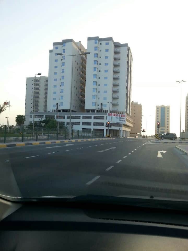 2 bed room apartment next to RCSI and King Hamad H