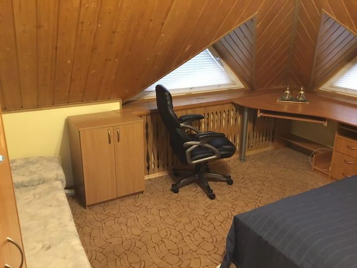 уютная комната для отдыха 1-3