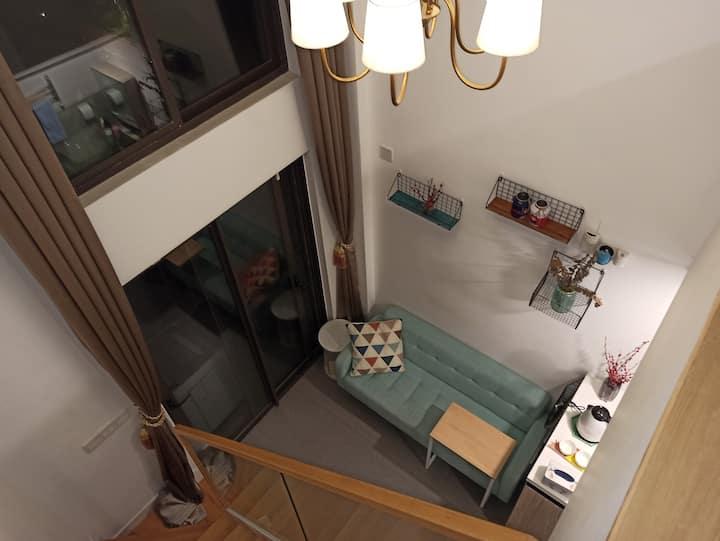 【偏爱.可园】特惠投影碧桂园loft复式下坝坊可园鳒鱼洲工农8号人民公园