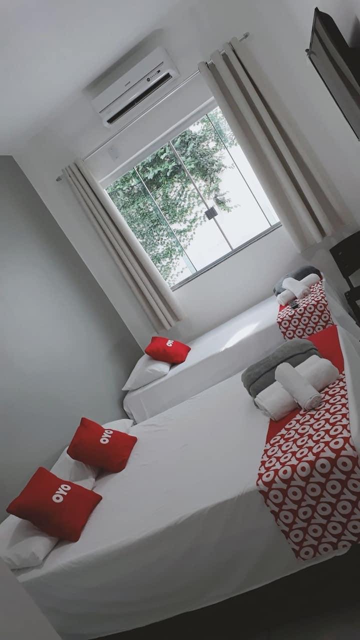 Hotel! Suite espetacular 102 COM CAFÉ DA MANHÃ