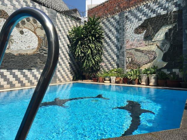 `Ali 8B-Modern Villa near Vung Tau beach with pool