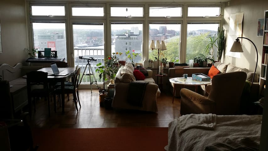 Fantastic view to the waterside in Majorna. - Göteborg - Wohnung