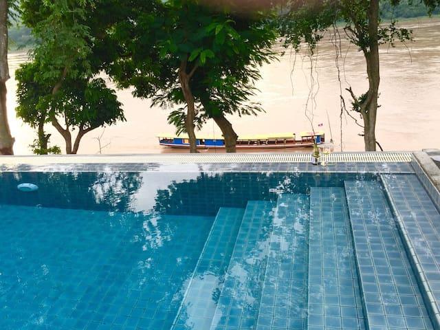 Villa Saynam by the Mekong - Luang Prabang - House