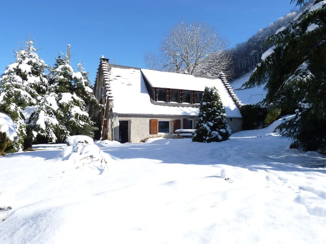 Chalet in the pyrenees, skiing, cycling, walking - Occitanie - Talo