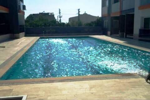 Apartment with Private Pool for Rent - Davutlar, Kuşadası