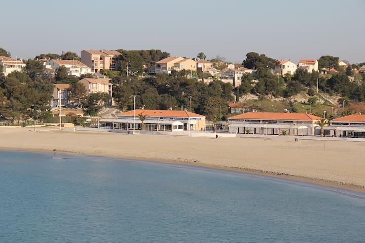 Logement 2/3p. La Couronne, Balcon, Parking, Plage