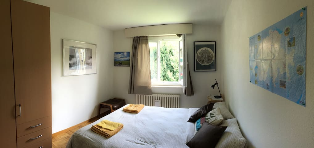 A beautiful room in a beautiful place of Suisse - Fribourg - Wohnung