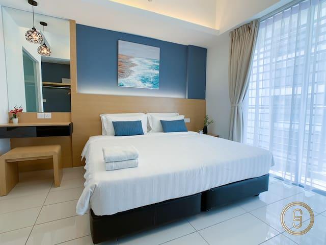 沙巴亚庇舒适独立套房-近机场&市区 Kota Kinabalu Aeropod 2.0 2pax
