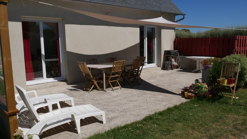 House at 150m from the beach - North Finistere - Plouescat - Ev