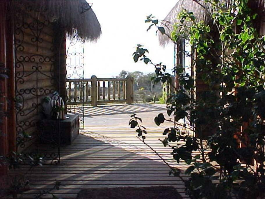 Terrassa, entrada