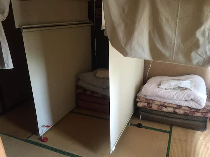 Shared room male and female Japanese-style 1 futon