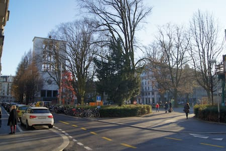 Single room, En-suite bath, Central - Lucerne