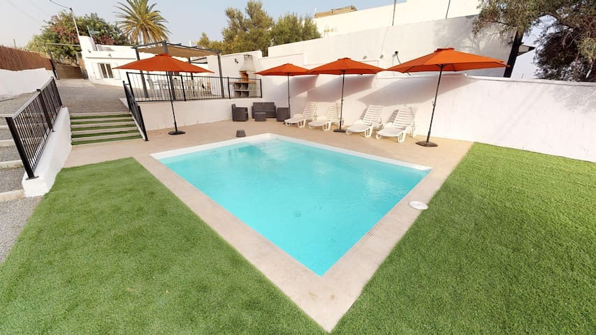 Finca Alto Arena con piscina Ingenio